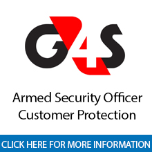 G4S	Armed Security Officer - Customer Protection
