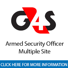 G4S	Armed Security Officer - Multiple Site