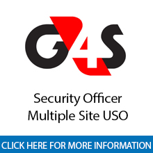 G4S	Armed Security Officer - Multiple Site - USO