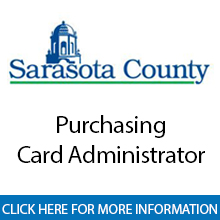 Sarasota County Government	Purchasing Card Administrator