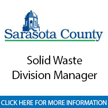 Sarasota County Government	Solid Waste Division Manager