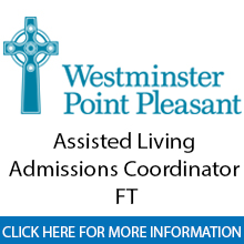 Westminster Point Pleasant 	Assisted Living Admissions Coordinator���FT��