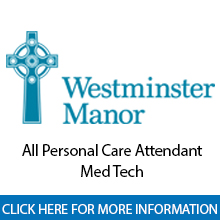 Westminster Bradenton Manor	All Personal Care Attendant/Med Tech