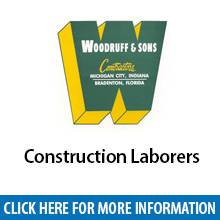 Woodruff & Sons	Construction Laborers�